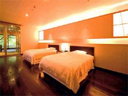花紫の客室