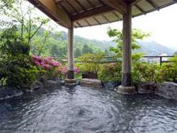 花紫の露天風呂
